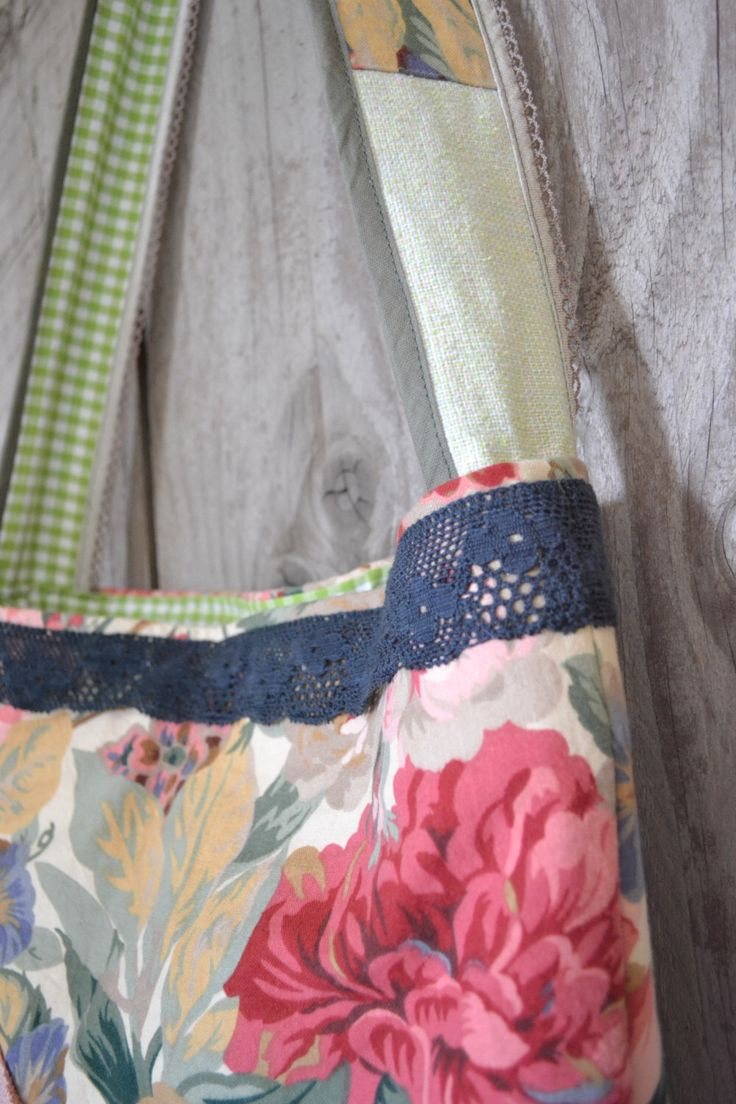 SALE the flower market bag - boho shabby floral tote bag - floral market tote - doillie accents - floral cross body bag by redstitchlab on Etsy https://www.etsy.com/listing/161443182/sale-the-flower-market-bag-boho-shabby