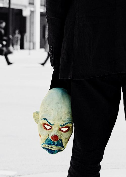 That mask...