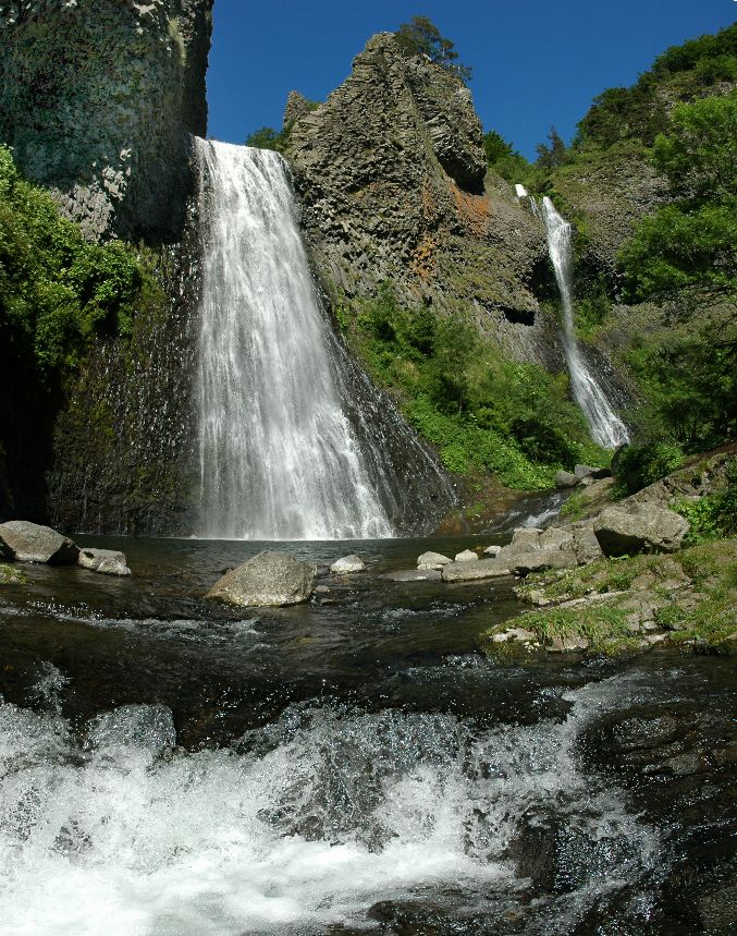 Cascade du Ray-Pic, Ardeche, France