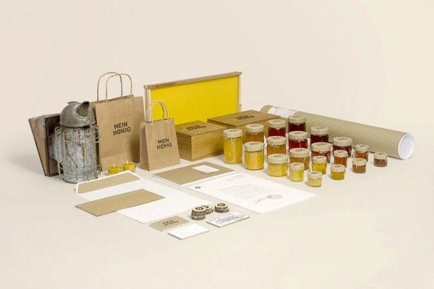 MIODOWY KOCHANEK na FUTU.PL Mój Miód, czyli w oryginale My Honey to projekt opakowań i identyfikacji wizualnej dla autorskiego miodku. Autorem słodkiego przedsięwzięcia jest austriacki projektant THOMAS LICHTBLAU.