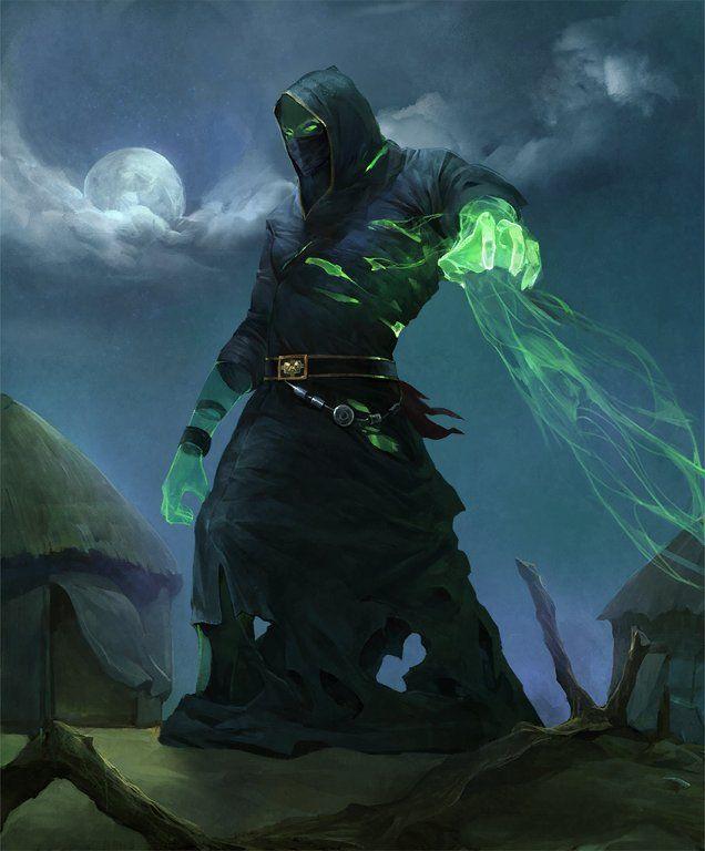 Card: Vengeful Possession   Concept art characters, Dark fantasy art,  Fantasy character design