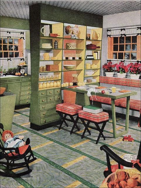 43 Best Floors Images On Pinterest Vintage Kitchen