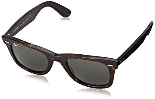 RayBan WAYFARER  HAVANA EFFECT AGED Frame GREEN Lenses 50mm NonPolarized >>> Continue to the product at the image link.Note:It is affiliate link to Amazon.
