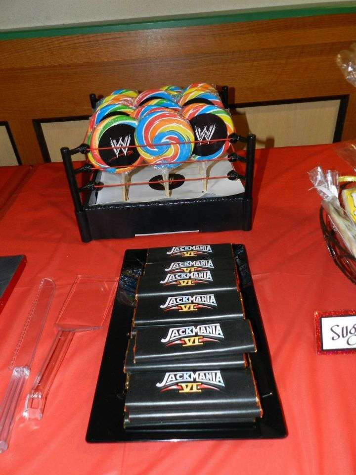 Wrestling Birthday Party Ideas   Photo 6 of 17   Catch My Party