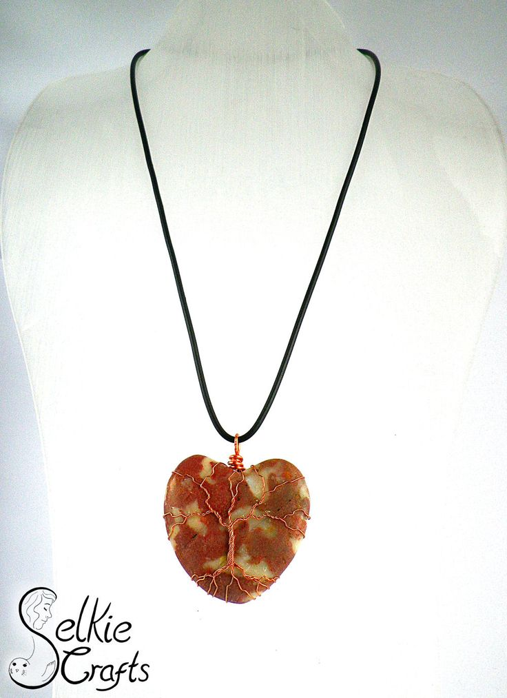Heart Necklace Gift For Mum Tree Of Life Mothers Day Gift