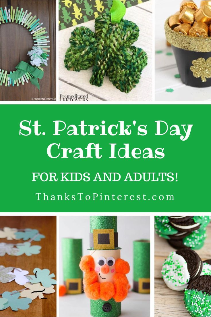 St Patrick S Day Craft Ideas For Kids And Adults Thanks To