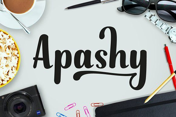 Apashy by Graptail on @creativemarket
