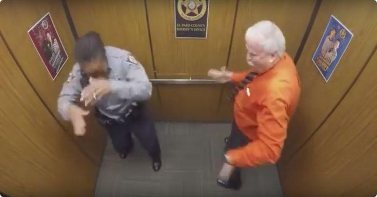 Haha! Deze coole sheriff viert zijn pensioen als een… BAAS! - http://filmpjevandedag.nl/coole-sheriff-viert-pensioen-al-dansend-op-rapmuziek/
