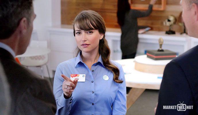 11 de mayo: la portavoz de Busty AT&T, Milana Vayntrub, parece haber tenido un comercial con calificación X para la empresa filtrado en línea en el video de arriba.
