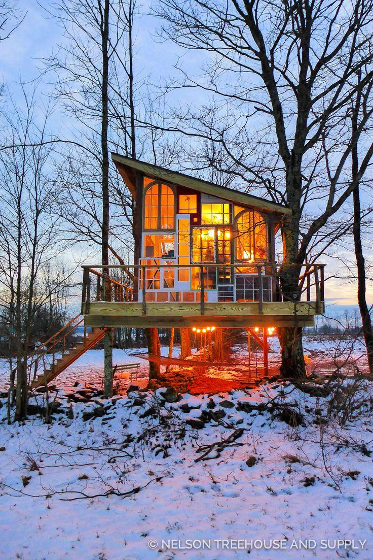 treehouse masters irish cottage. Unique Cottage Catskills Glasshouse Treehouse  Masters Season 8  Pete Nelson And Irish Cottage L