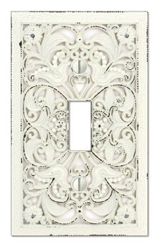 Ornate Switch Plates. These Might Work, And At $5.25 A Pop, Theyu0027