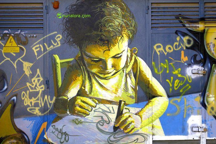 N.Lora Deco-ArTe-Fotografia: Graffiteros...de Sevilla