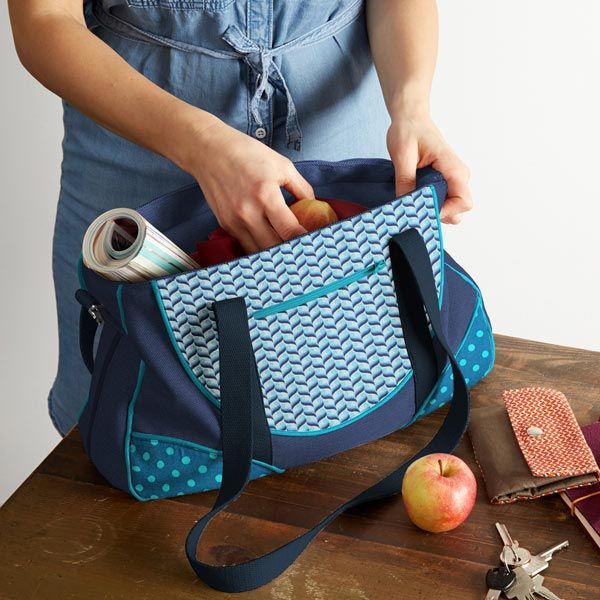 Nähpaket Schnabelina Bag blau