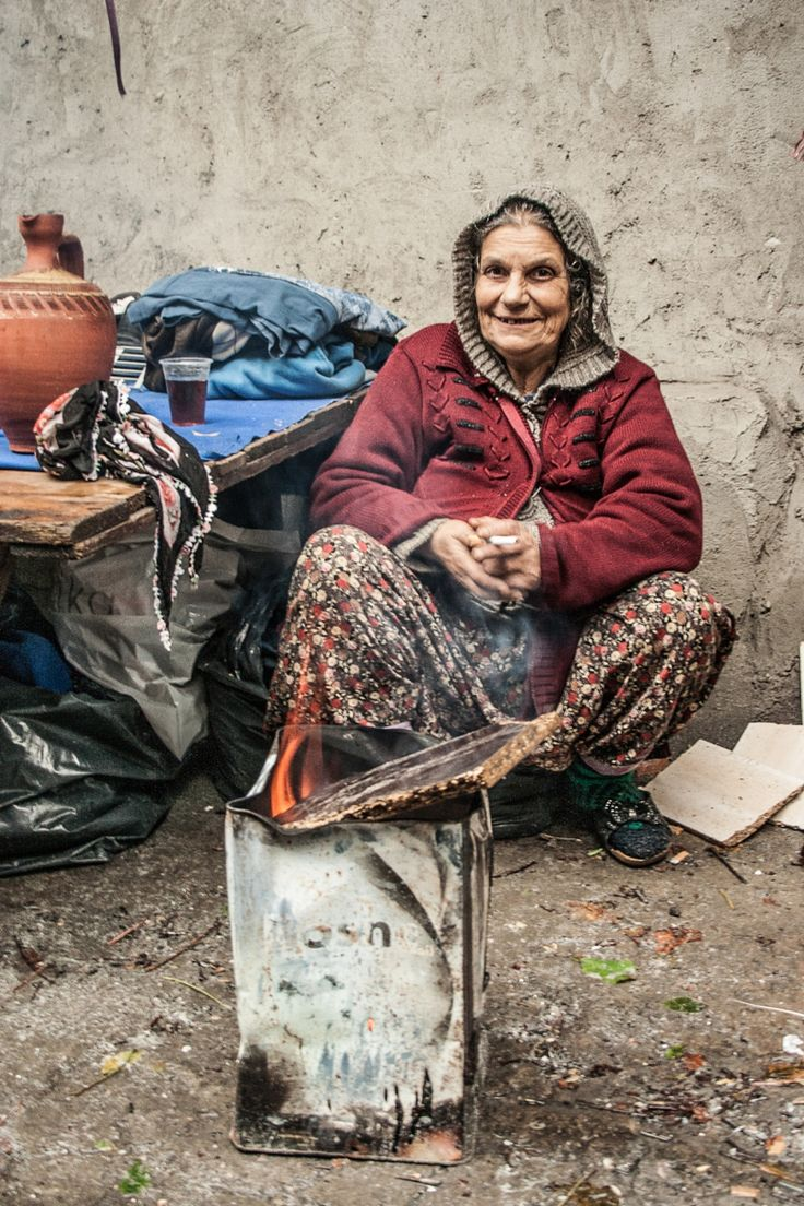 Seeking warmth . Turkey