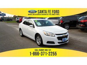 2016 White Chevrolet Malibu Limited LT 36737P