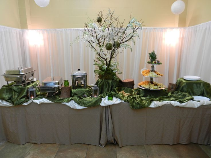 Love the beauty of nature? Try something like the Enchanted Forest theme that Affordable Catering created!