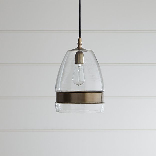 Morela glass pendant light