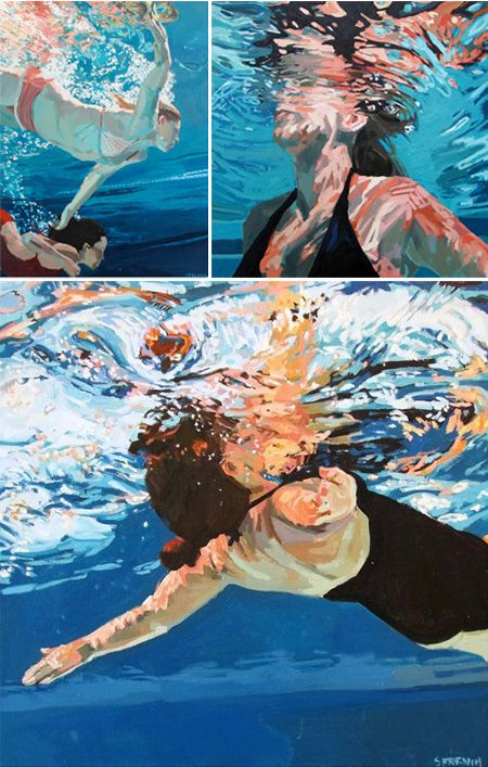 Paintings by Samantha French