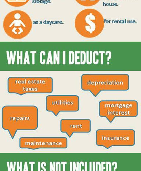 Tax Deductions For A Home Office [Infographic] (With