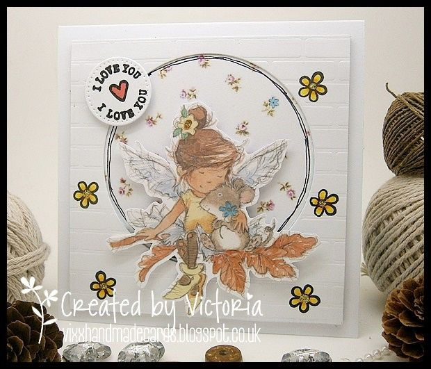 LOTV - Magical Fairies Art Pad with Shabby Shack Paper Pad and Greetings Postmark stamps by Donna Mosley