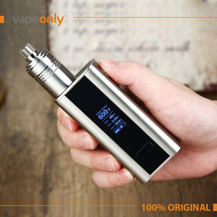 전자 담배 joyetech 입방 tc 150 와트 상자 모드 및 wismec theorem rta atomzier의 vape 키트 배터리 100% 원래