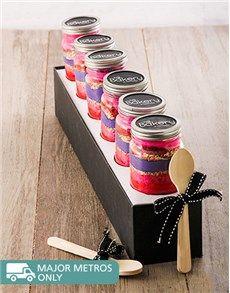 Cakes and Cupcakes - Cupcake Jars: 6 Birthday Girl Cupcakes in a Jar!
