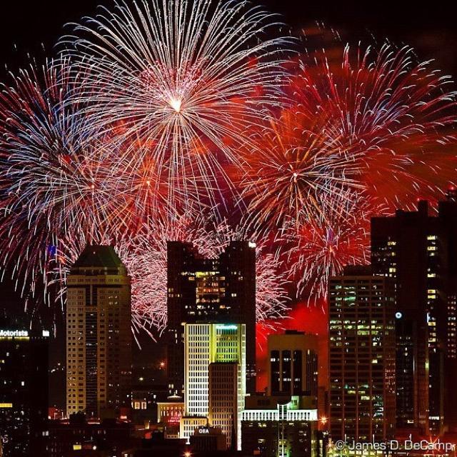 Houston New Years Eve Fireworks