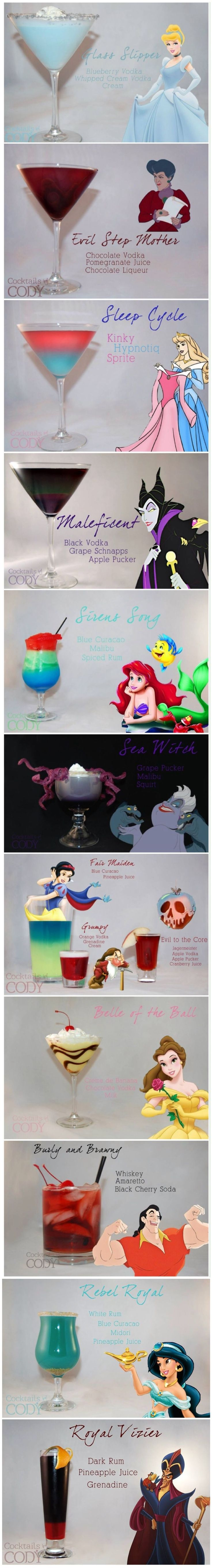 8 Disney-Themed Cocktails | Bev and Cuisine
