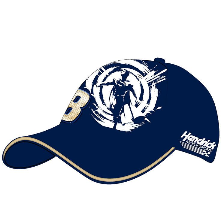 Jimmie Johnson Hendrick Motorsports Team Collection Youth Superman Character Adjustable Hat - Blue - $19.99