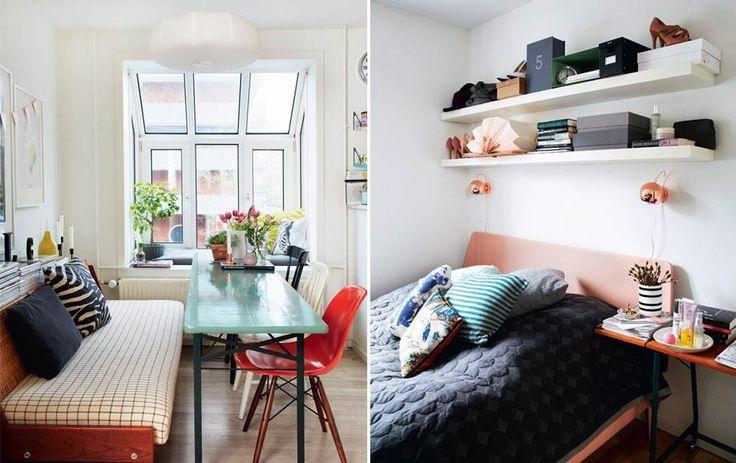 Ideer til små hjem: 90 kvadratmeter til bofællesskab - Boligliv - ALT.dk