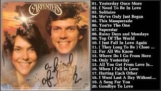 carpenters greatest hits full album - YouTube
