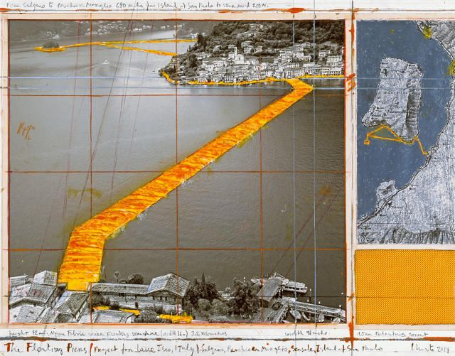 Christo's Floating Piers Were 50 Years And $17 Million In The Making | Co.Design | business + design