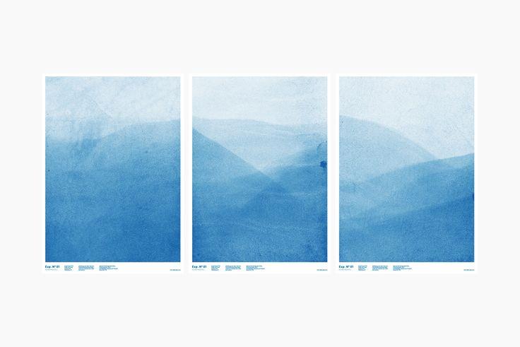 FEINFRACHT Exp. N° 01 - Beim Exp. N° 01 geht es um Indigo, ein natürlicher Farbstoff, welcher bereits seit Jahrhunderten genutzt wird. Das FEINFRACHT® Poster kommt im Format A2. Es wird von der Serigraphie ULDRY aus Hinterkappelen, Bern gedruckt.
