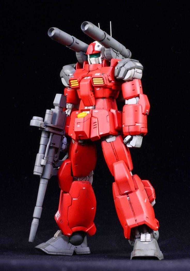 GUNDAM GUY: 1/100 Guncannon - Customized Build