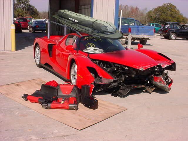 Best Smashed Ferrari S Images On Pinterest Ferrari Ferrari