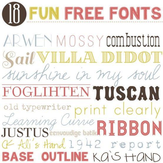 The Vintage Lemon fonts