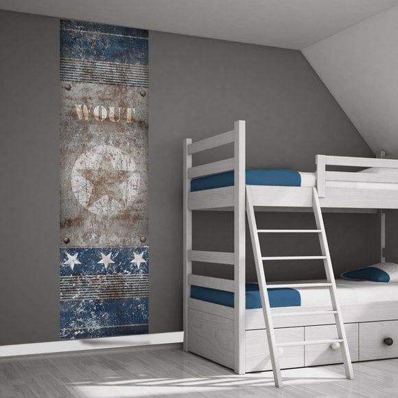 25 beste idee n over stoere jongens slaapkamers op pinterest tiener jongen slaapkamer - Blauwe en grijze jongens kamer ...