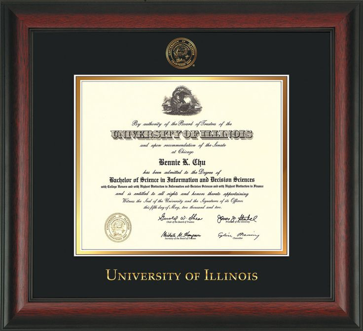 76 best University of Illinois Diploma Frames and Graduation Gifts ...