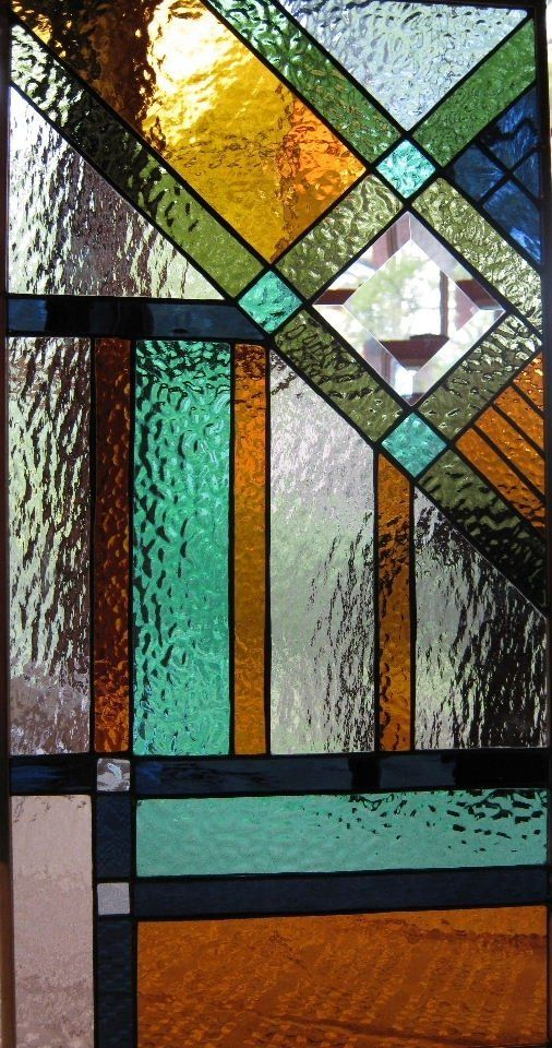 southwestern stained glass - Front entry