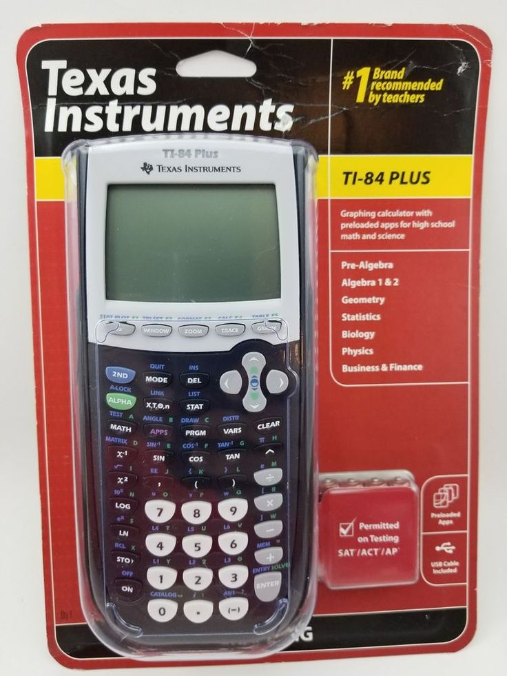 Texas Instruments TI-84 Plus Graphing Calculator Factory Sealed | Consumer Electronics, Gadgets & Other Electronics, Calculators | eBay!