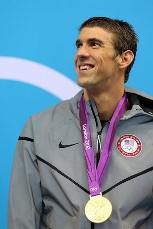 Michael Phelps. I will always love you.