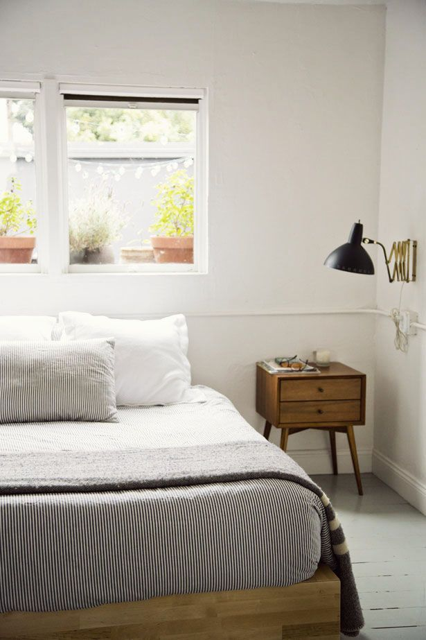 mid century modern bedrooms | 28 Simple And Elegant Mid-Century Modern Beds