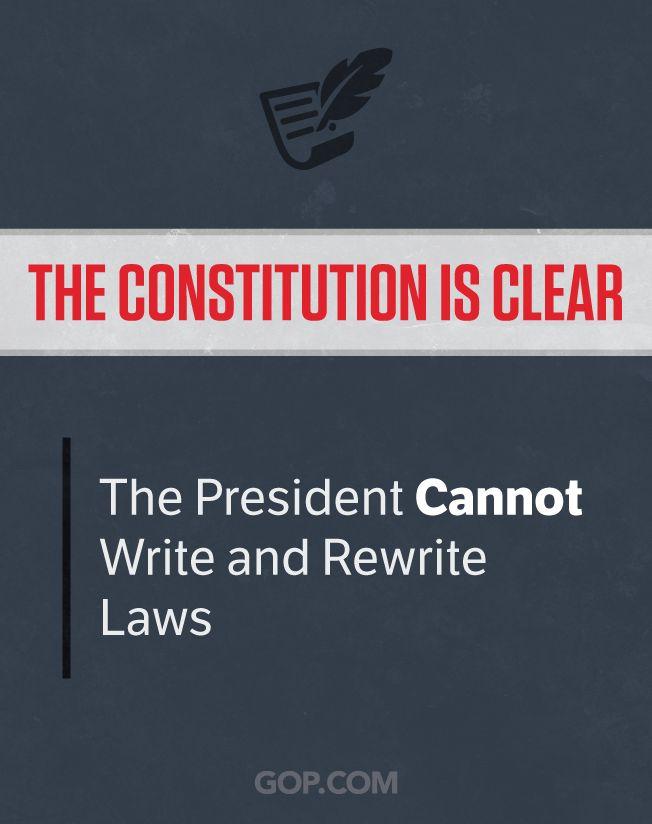 Obama cannot decide to abide by our laws however he sees fit.   Support the GOP lawsuit to stop his unlawful, constitutional overreach.