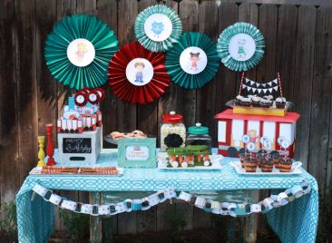Throw a GRR-rific Daniel Tiger-themed party for your little tiger's big day! From invitations, to favors, decorations, games, food, and more from @PBS Parents!
