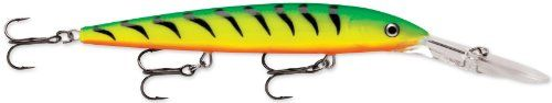 Rapala Down Deep Husky Jerk 12 Fishing lure 475Inch Firetiger *** Click image to review more details.