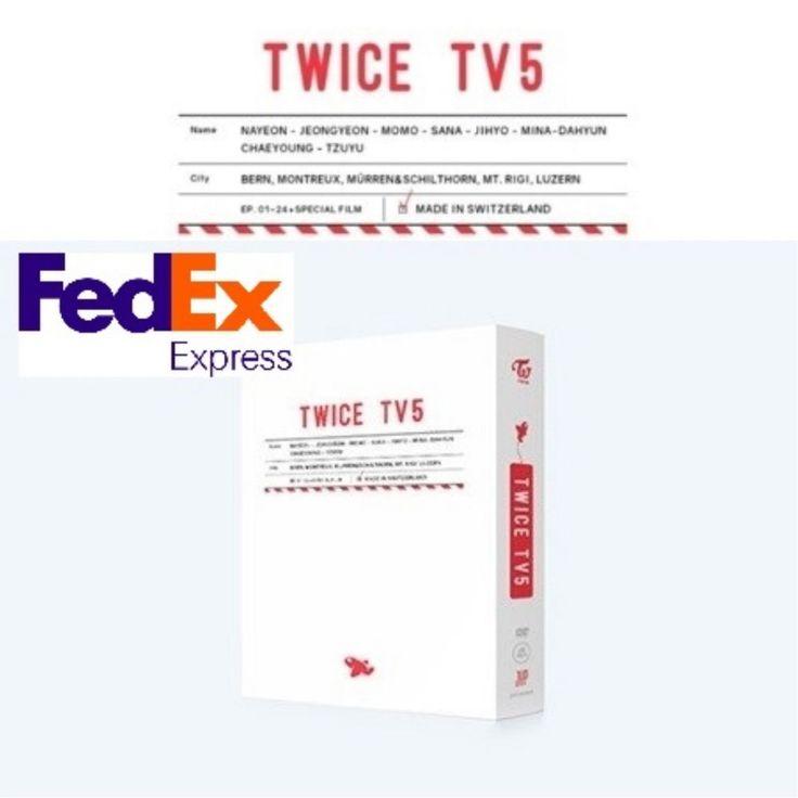 [TWICE TV5] : Twice In Switzerland DVD Sealed New by FedEx, EMS
