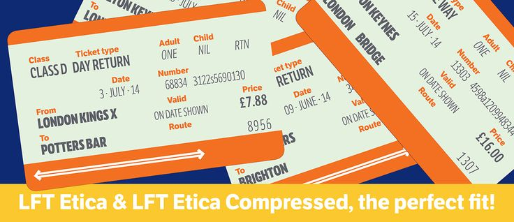 LFT Etica & LFT Etica Compressed, the perfect fit! #typematching