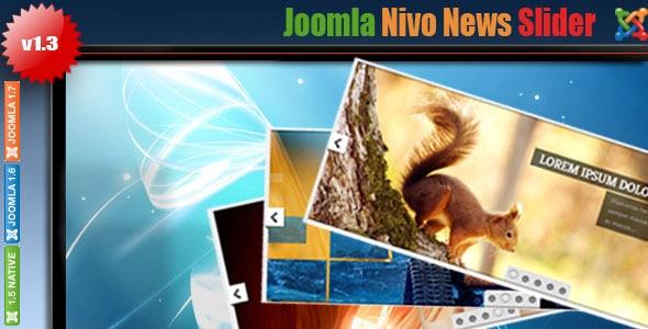 Nivo Joomla News Slider