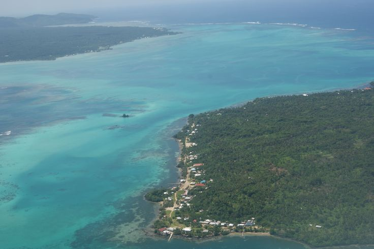 #Travel - Flying over #Samoa.  Photo: D Rudman