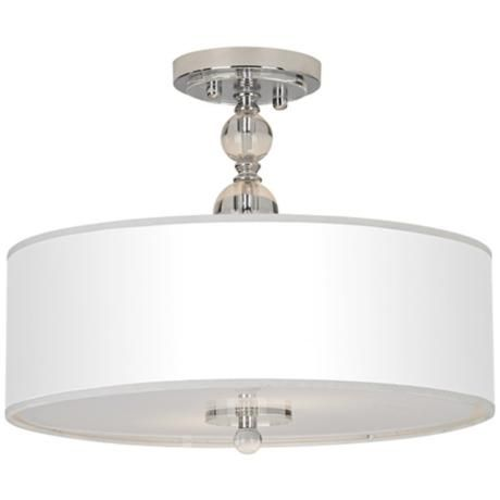 Pretty Semi Flush Pendant Great Alternative To A Chandelier! From @Ann  Strausburg PLUS · Kitchen Ceiling ...